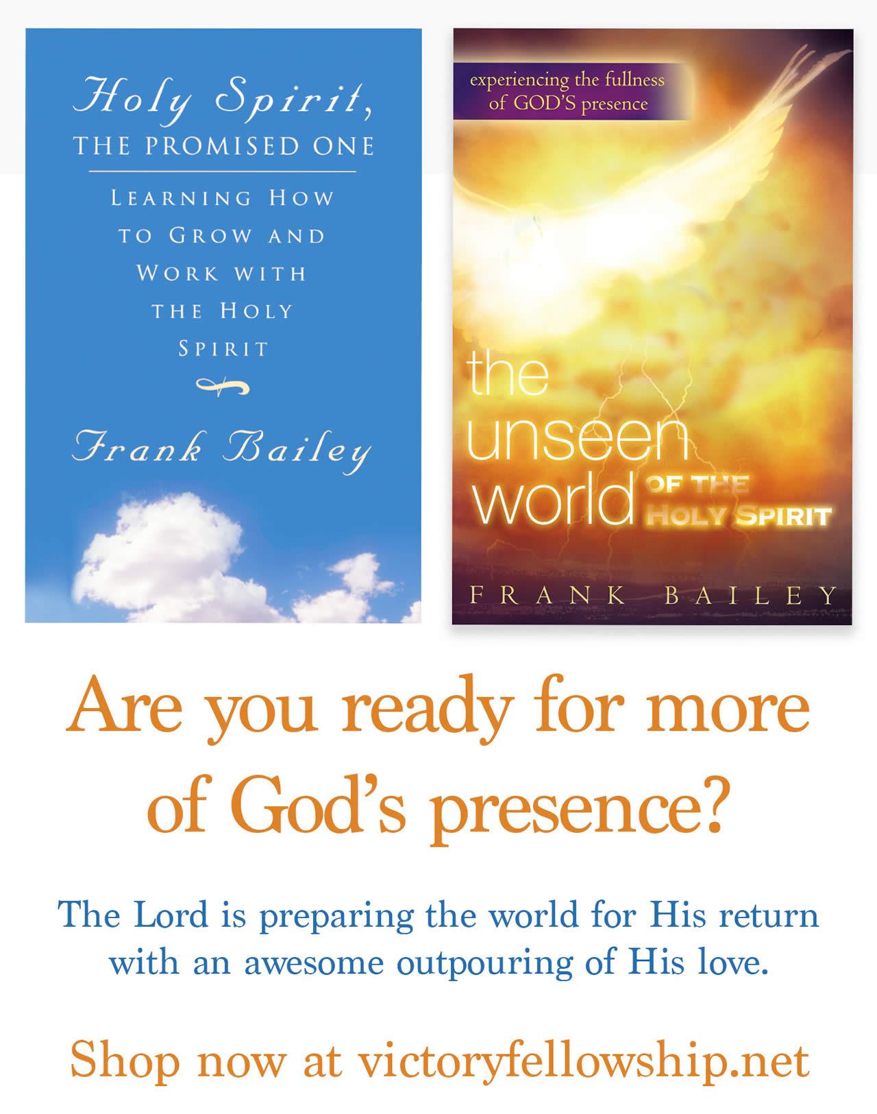 Pastor Frank Books