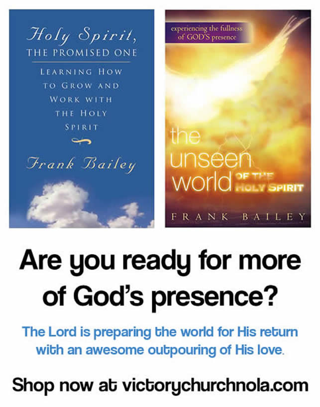 Are you ready for more of God's presence?
